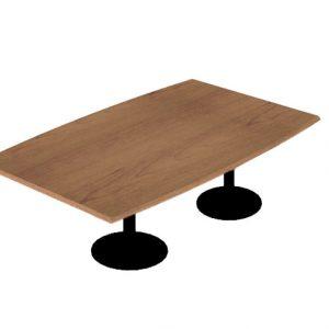 mesa reuniones oval 200