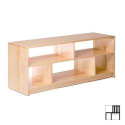 Fabricado en Plywood.